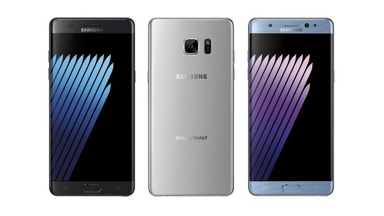 Samsung Galaxy Note 7 Suspendido