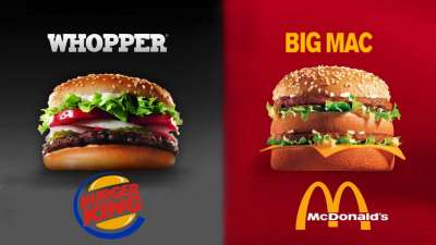 Macdonald Vs Burgerking